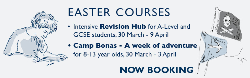 Easter Courses - Now booking